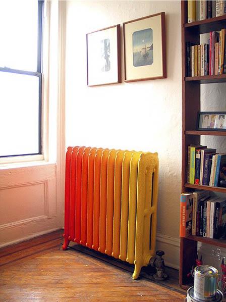 restyling dei termosifoni artistico