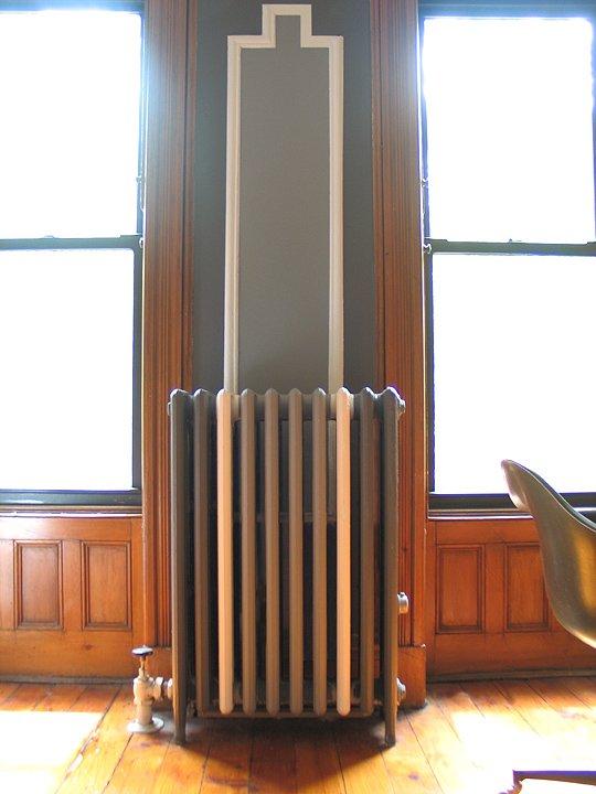 restyling dei termosifoni tono su tono