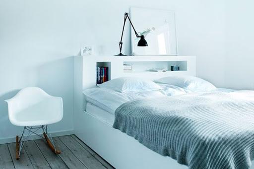 Arredare con la muratura ed il cartongesso per progetti su misura architettura e design a roma - Mensola comodino per letto ...