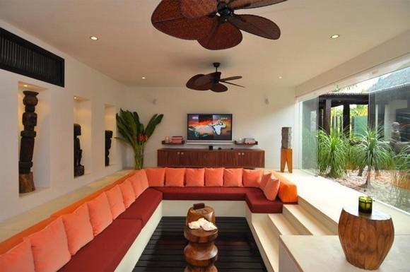 Arredare con la muratura ed il cartongesso per progetti su for Camera da letto con divano