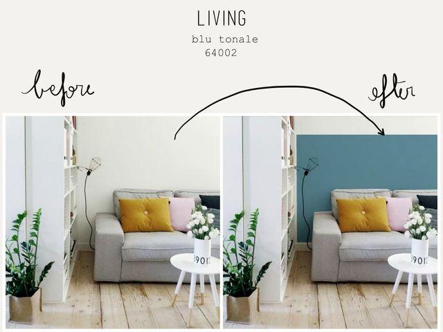 scgliere il colore delle pareti