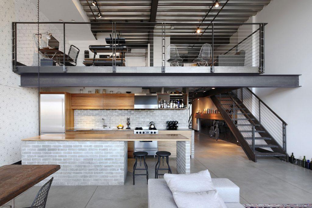 6 soluzioni per arredare un loft moderno architettura e for Arredare un loft