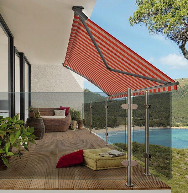 Tende Per Esterni Roma.Tenda Da Sole Markilux930 Swing Coverture Roma 1 Architettura E