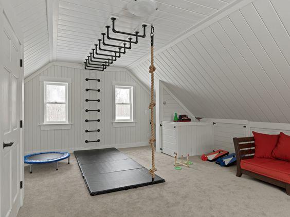 Palestra in casa per grandi e piccoli architettura e for Palestra in casa