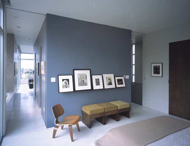 Camera Da Letto Blu Balena : Arredare con il grigio architettura e design a roma