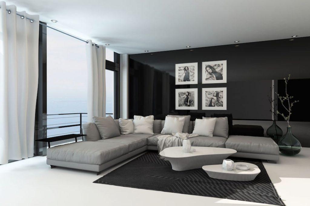 Arredare con il grigio architettura e design a roma - Divano grigio abbinamenti ...