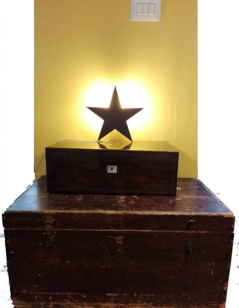 lampada a forma di stella