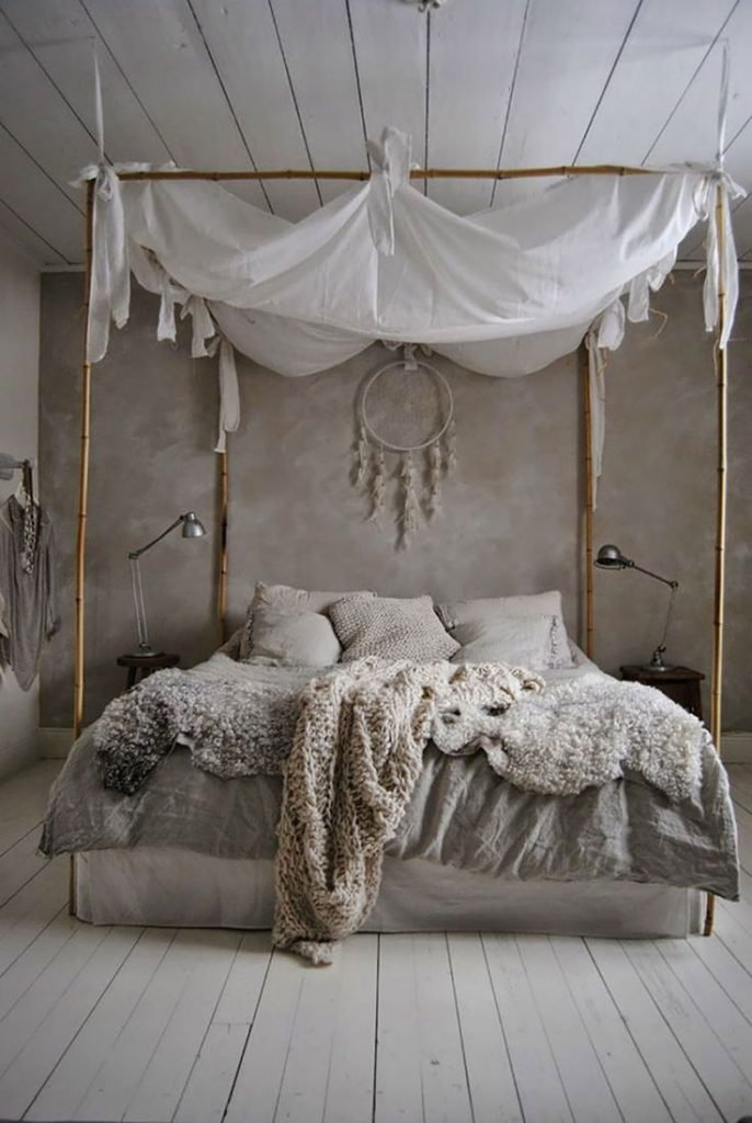 baldacchini e ciel de lit