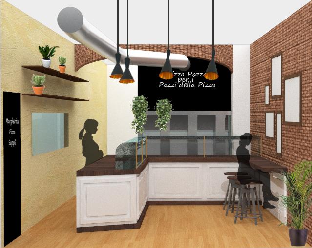 News relooking di un locale pizzeria al taglio www - Relooking shop ...