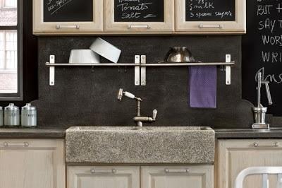 Il primo amore non si scorda mai la vernice lavagna - Lavagna cucina design ...