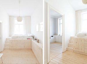 Soppalchi e pedane, un passo più vicini al cielo. - image basso-contenitore-Mini-appartamento-dal-design-scandinavo-progettato-dallo-Studio-Oink-a-Wiesbaden-Germania-ddarcart-02-300x222 on http://www.designedoo.it