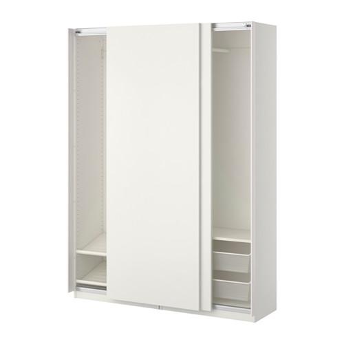 Ikea It Guardaroba.Pax Guardaroba Bianco Hasvik Bianco 150x44x236 Numero