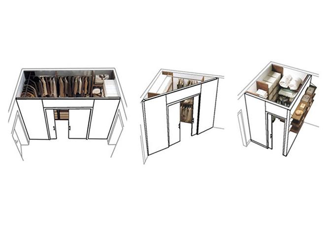 Immagini Cabina Armadio Cartongesso.Cabine Armadio In Cartongesso Architettura E Design A Roma