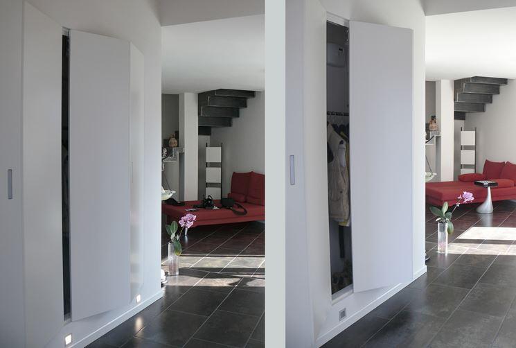 Armadio A Muro Design.Armadio A Muro Chiudere Gli Armadi A Muro Ng1 Architettura E
