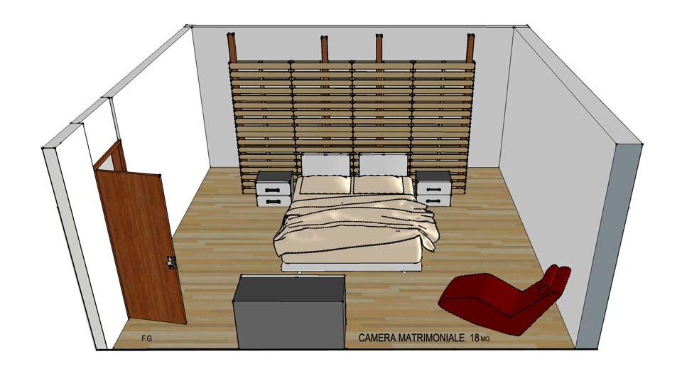 Cabina Armadio Camera Da Letto.Camera Da Letto Pallet Cabina Armadio Pallet Architettura E