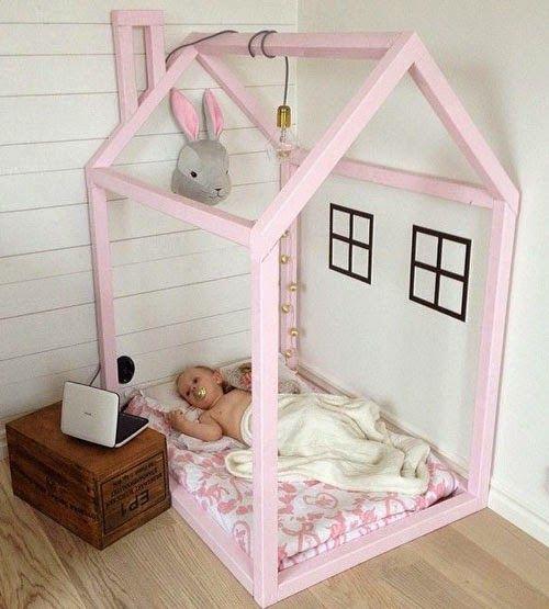 Stile nordico per i letti a casetta - image baby-a0f299a8eb0a0f530692fe42c3a8110a on http://www.designedoo.it