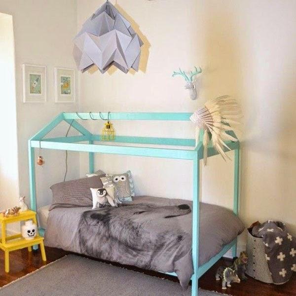 Stile nordico per i letti a casetta - image colorata-pinsta2 on http://www.designedoo.it