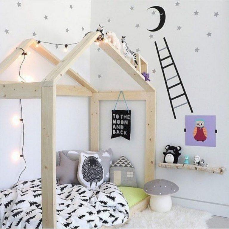 Stile nordico per i letti a casetta - image dazzling-kids-room-interior-design-idea-62-768x768 on http://www.designedoo.it