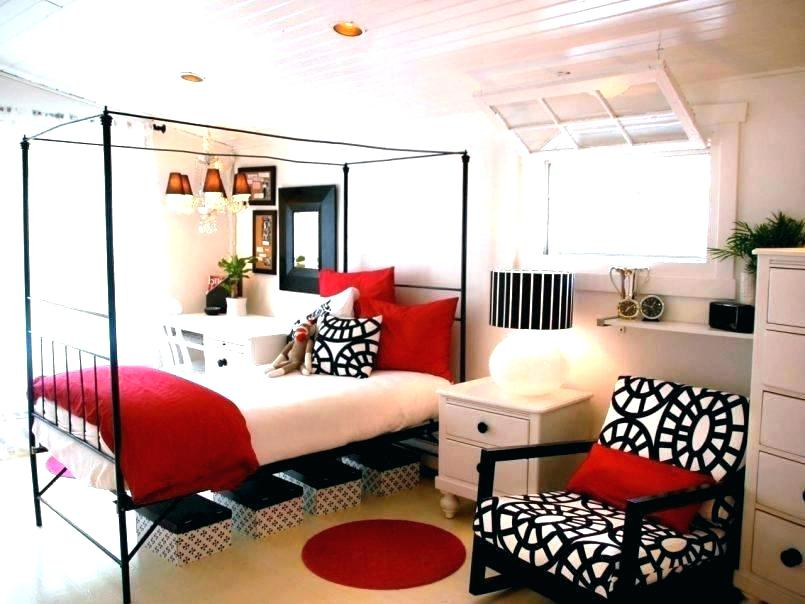 Imm Black White Red Bedroom Red Gold Bedroom Decorating Ideas