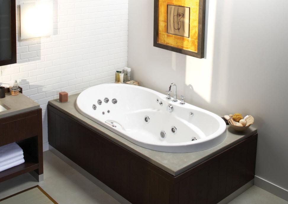 vasca da bagno idromassaggio da incasso