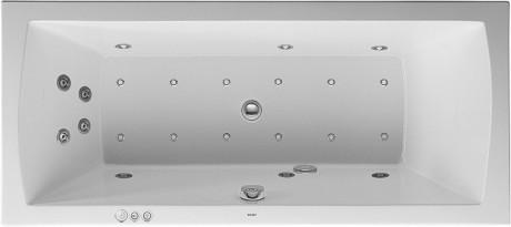 vasca da bagno idromassaggio rettangolare
