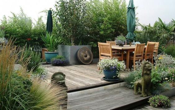 Fiori e verde sul terrazzo architettura e design a roma for Piante da terrazzo