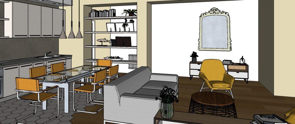 progetto di ristrutturazione appartamento