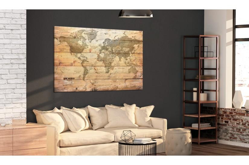 quadri mappamondo