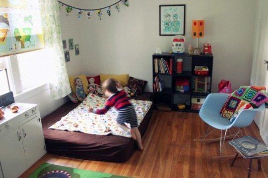 futon in cameretta