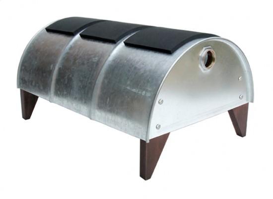 arredare con i fusti di metallo