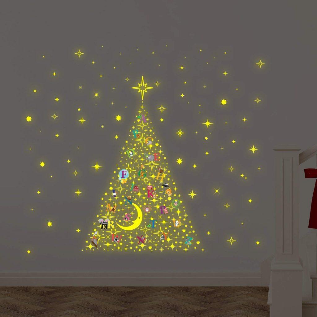 Decorare Finestre Per Natale Scuola albero di natale salvaspazio: soluzioni creative