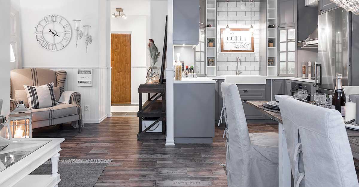cucina a vista soggiorno-con-cucina-a-vista-1 - Architettura ...