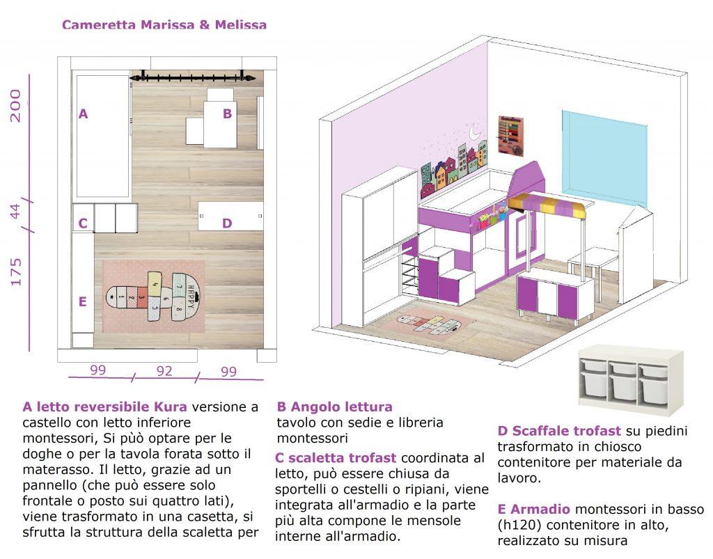 La cameretta si trasforma in una magica città - image tav.-proposta1-tav2-1024x803 on http://www.designedoo.it