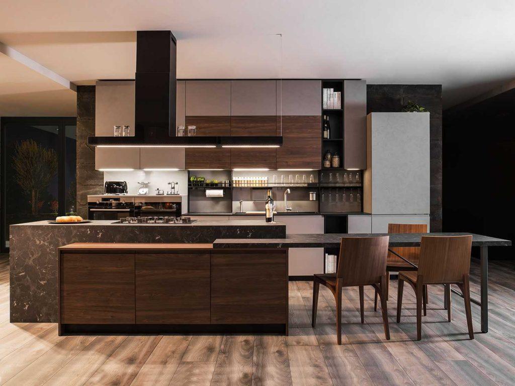 Sala Cucina 25 Mq come arredare la cucina a vista nella zona giorno
