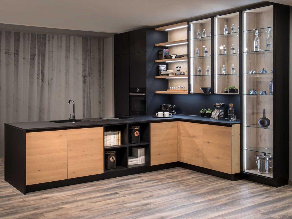 Progetto Soggiorno 20 Mq come arredare la cucina a vista nella zona giorno
