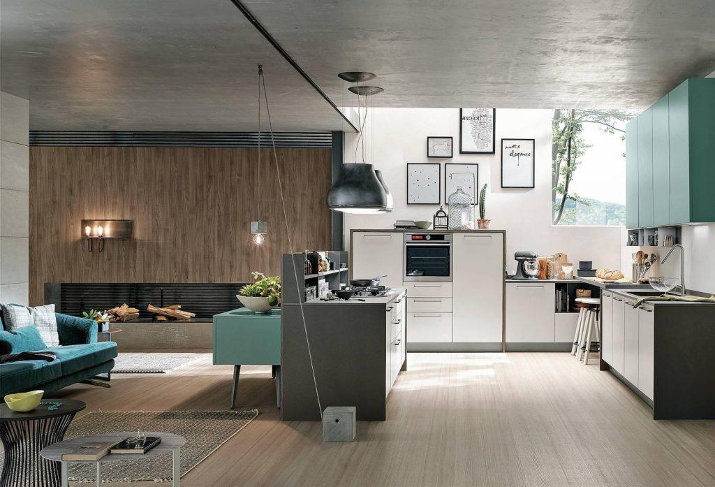 Come arredare la cucina a vista nella zona giorno? Sicuramente, come prima cosa,  sarà necessario realizzare un piccolo progetto per scegliere la tipologia di cucina più adatta.