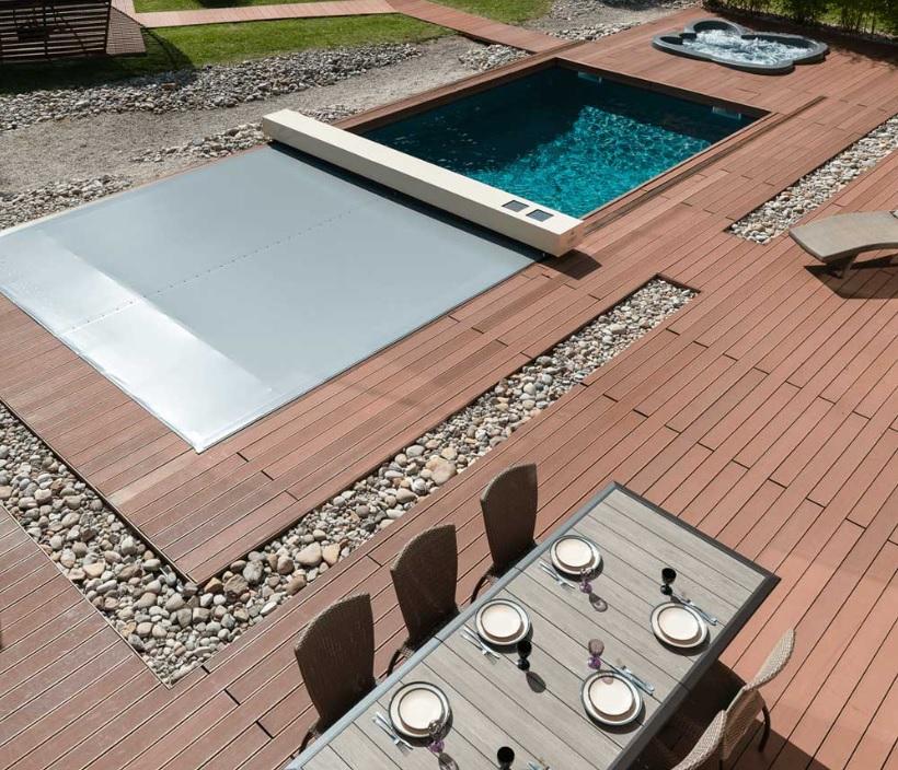 coperture per piscine calpestabili