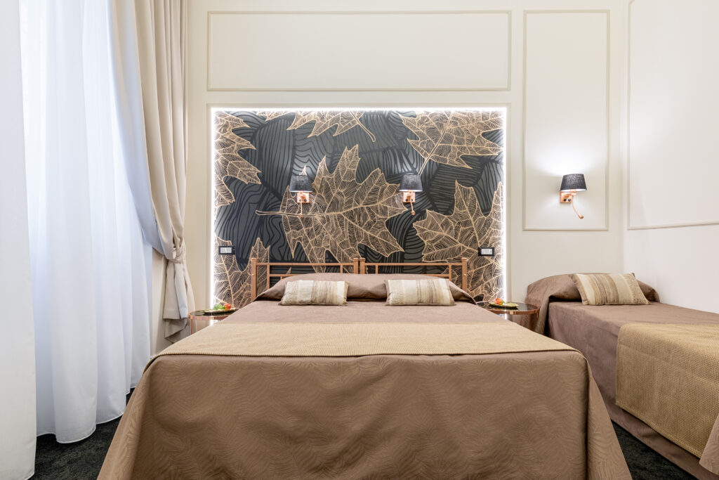 progettazione di interni camera autunno