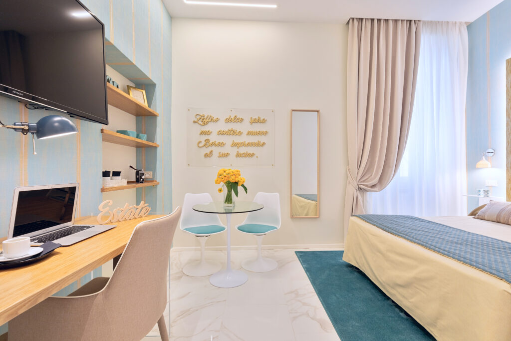 progettazione di interni camera estate