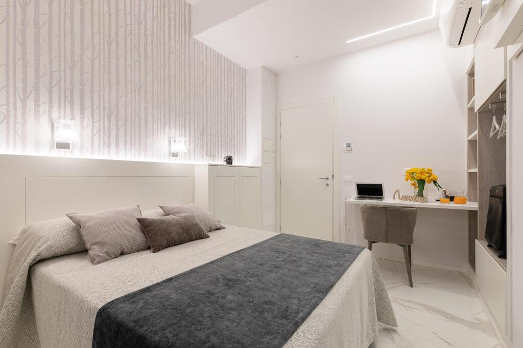 progettazione di interni camera inverno