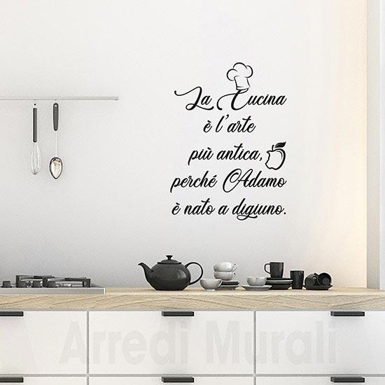 Passione decorazione: come gli adesivi murali possono donare carattere e personalità ad un ambiente - image adesivi-Decorazioni-murali-cucina-stickers-da-parete on http://www.designedoo.it
