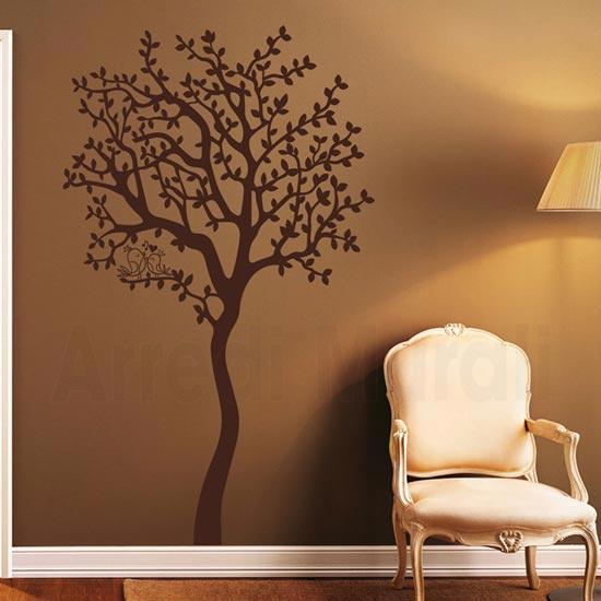 Passione decorazione: come gli adesivi murali possono donare carattere e personalità ad un ambiente - image adesivo-murale-albero-01 on http://www.designedoo.it