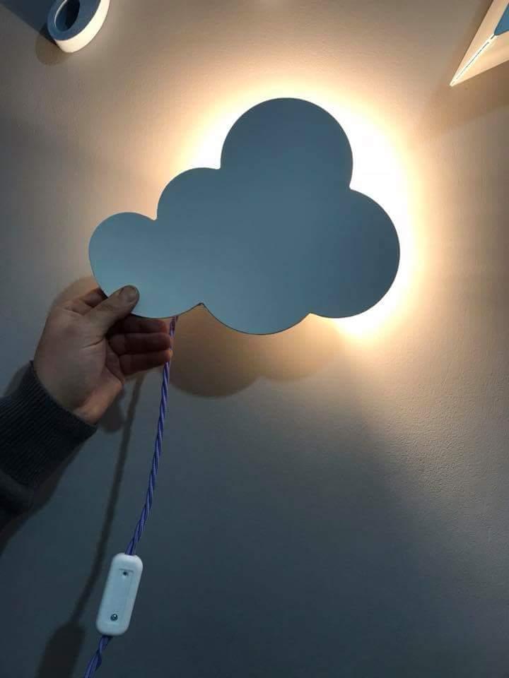 complementi a forma di nuvola