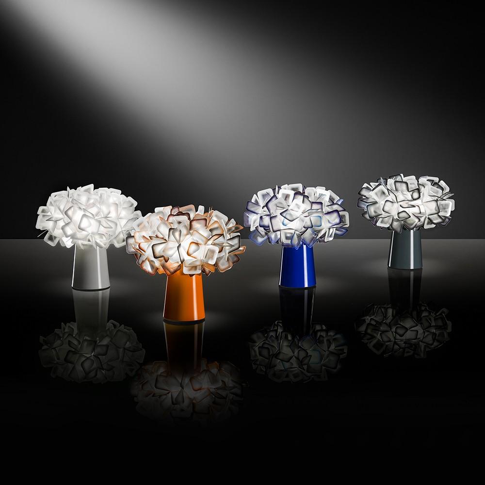 Lampade da tavolo: come scegliere il modello perfetto - image lampada-clizia-tavolo-slamp on http://www.designedoo.it