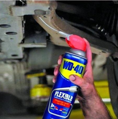 kit di attrezzi spray sbloccante
