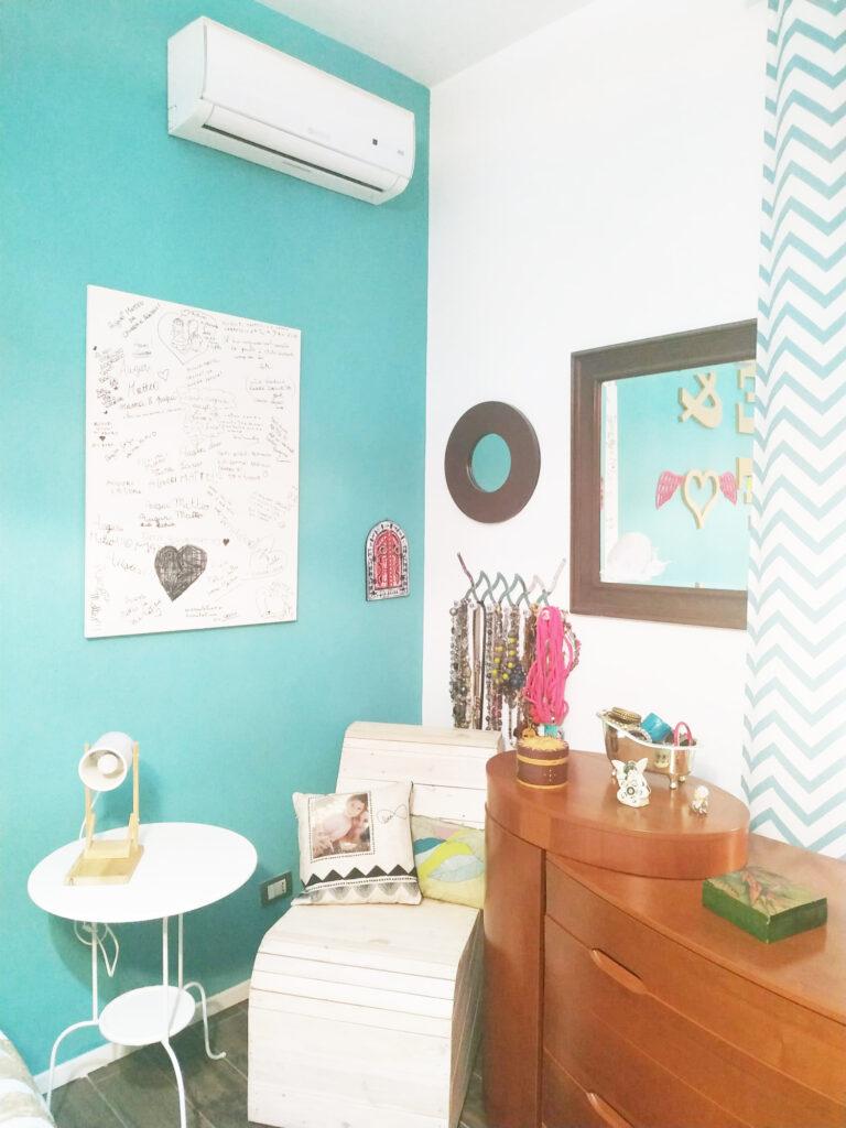 arredare la camera da letto in stile boho chic