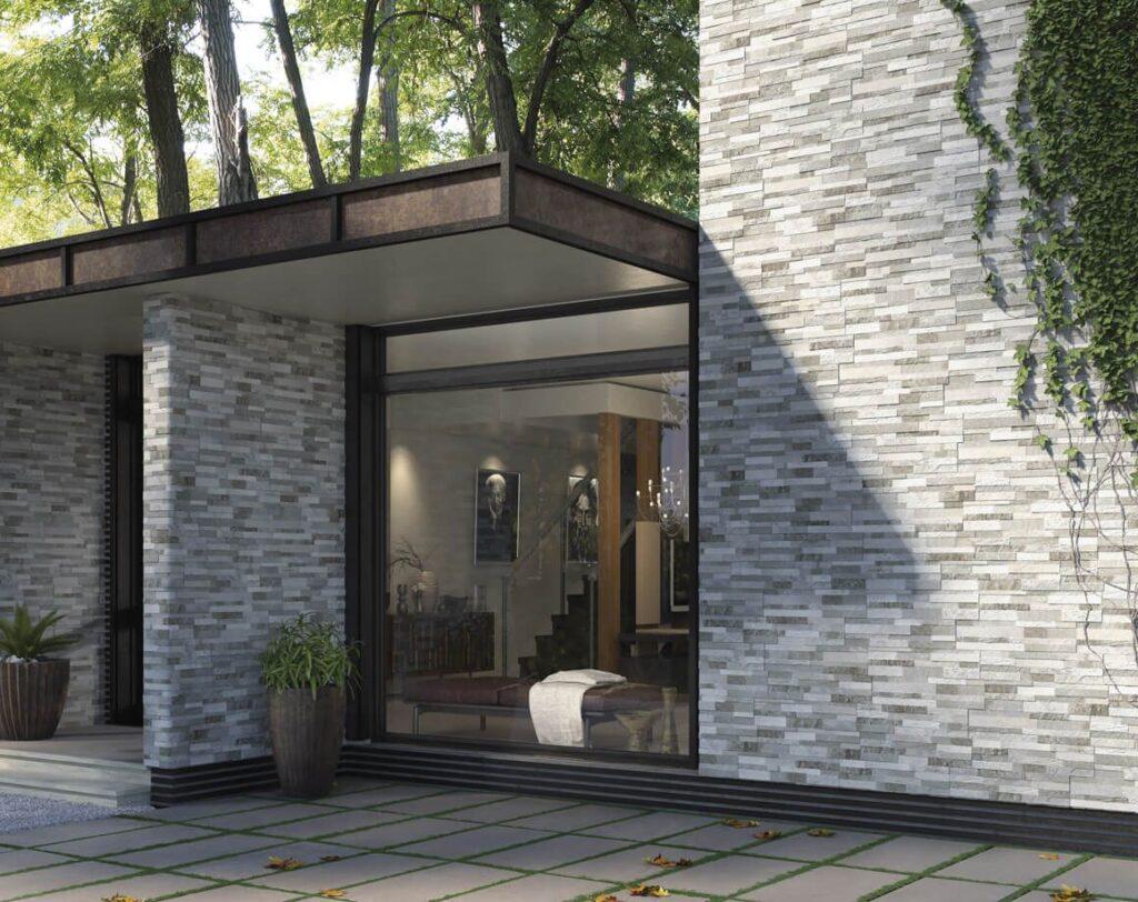 Requisiti e prestazioni dei rivestimenti in ceramica - image riv-cubics-grey-150x610-b_76-1024x812 on http://www.designedoo.it
