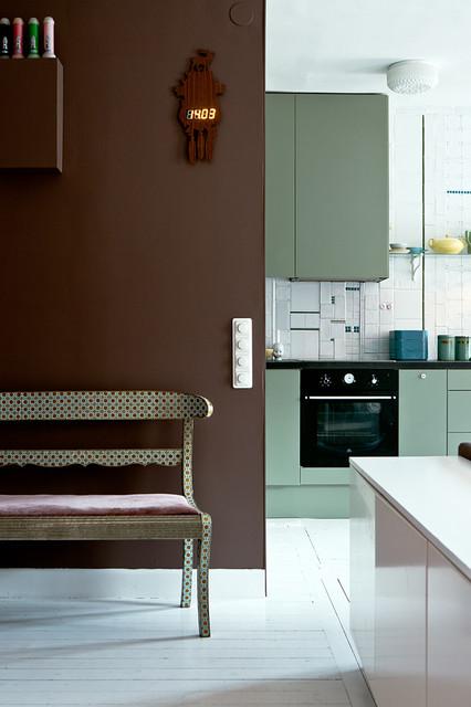 color cioccolato in cucina