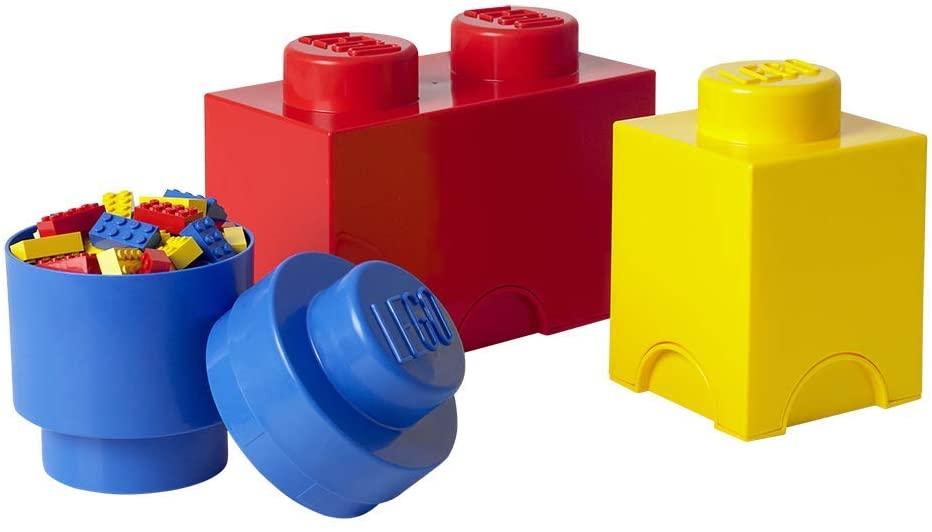 Design per bambini nel Museo dei diritti dell'infanzia - image amazon-Room-Copenhagen-Mattoncino-Lego-Multipack-S-contenitori-impilabili-Set-di-3-Pezzi-Multicolore-One-Size-3-unit%C3%A0 on http://www.designedoo.it