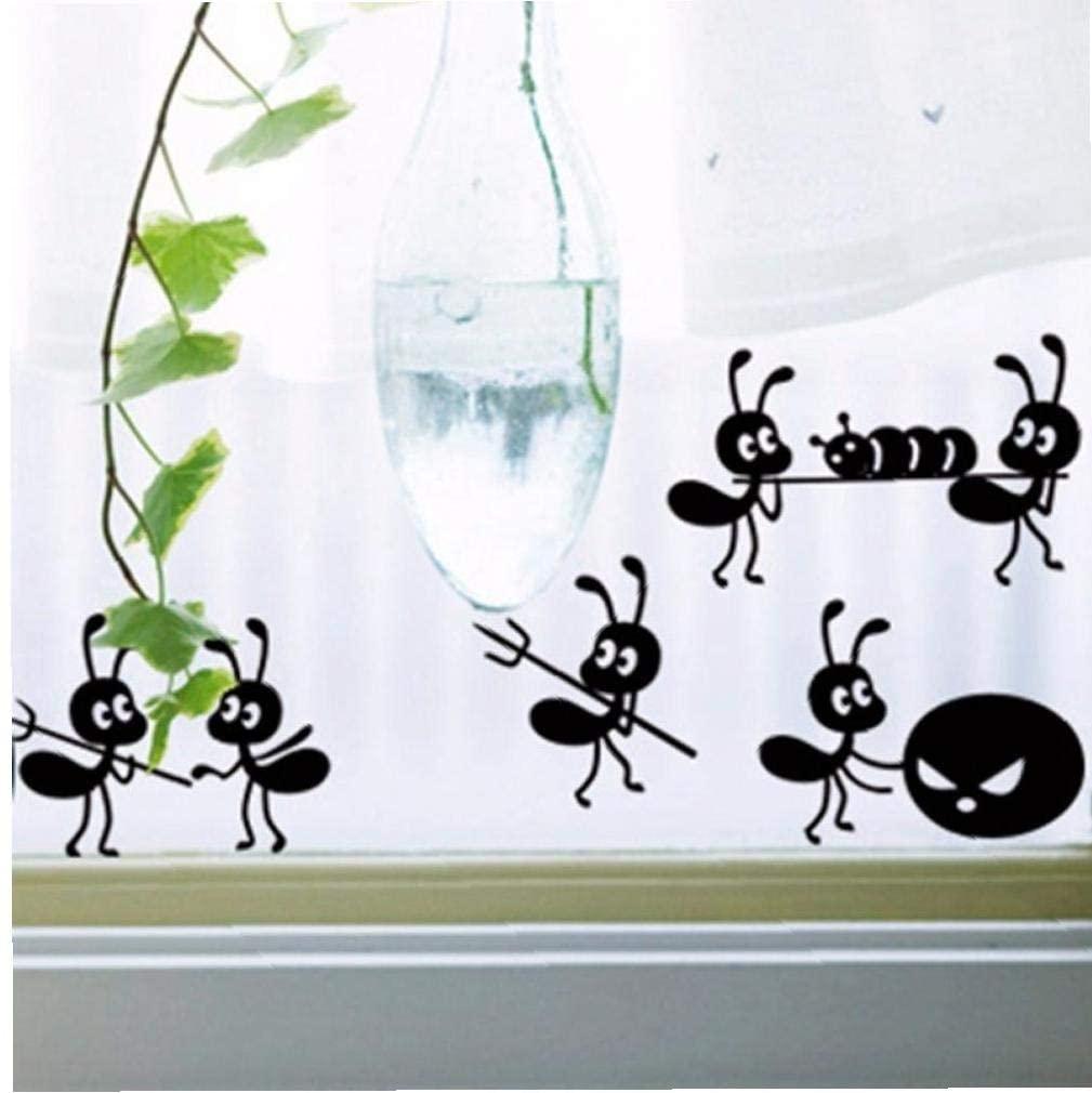 Design per bambini nel Museo dei diritti dell'infanzia - image amazon-Ruluti-6-Centimetri-Wall-Sticker-Formiche-1pc-del-Fumetto-Nero-Home-Art-Decalcomanie-di-Vetro-di-Windows-Decorazioni-Poster on http://www.designedoo.it